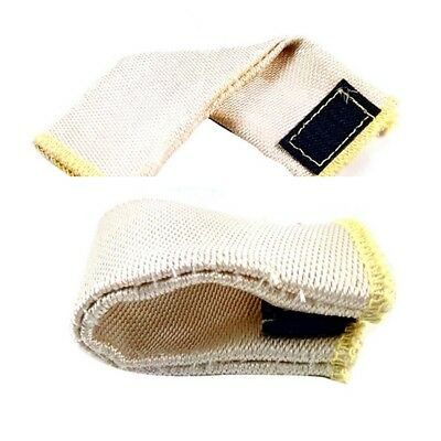 2 Pcs Safety Heat Shield Guard Welding Glove TIG Finger Dedicated Protection