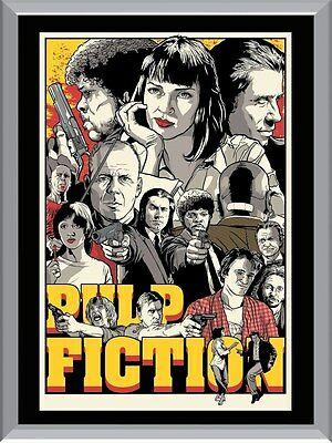 Pulp Fiction Art A1 To A4 Size Poster Prints