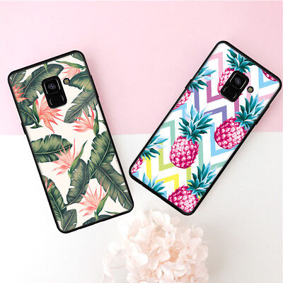 Cute Printed Pattern Cover Case soft For Samsung Galaxy A8+S8 S9 Plus S7 S6 Edge