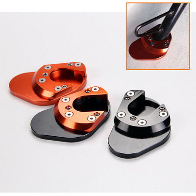 Anodized Sidestand Plate Kickstand Extension Pad For KTM RC390/690/950/990/1190