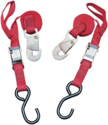 Ancra Snapper Tie Downs Red (45216-10)