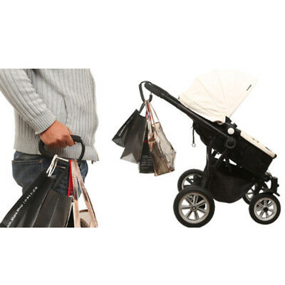 Portable XL Size Baby Stroller Carriage Bag Hook Hanger Accessories Universal
