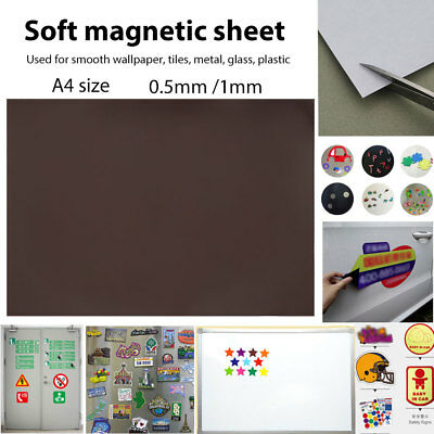 Magnetic Material Rubber Magnet Magnet Piece Soft Magnetic Sheet Durable