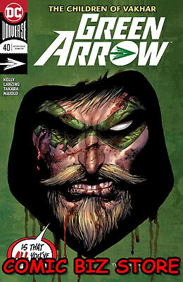 Green Arrow #40 (2018) 1St Printing Dc Comics Universe Bagged & Boarded