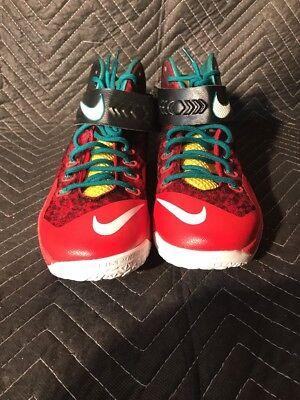 outlet store f3391 85144 2014 Nike Zoom Soldier VIII SZ 11m Lebron Christmas Black White Red 688579 -016