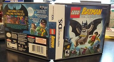 Lego Batman (Original DS Replacement Case) Game NOT included