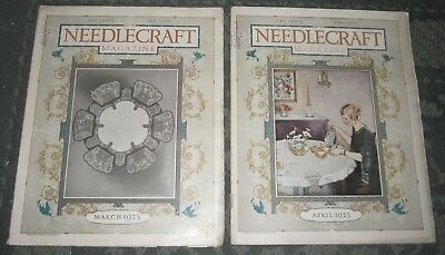 2 March 1923 And April 1923 Publications - Needlecraft
