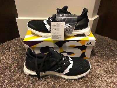 bc3d5f6fb ADIDAS ULTRA BOOST 1.0 LTD UNDFTD Undefeated Black White B22480 NEW ...