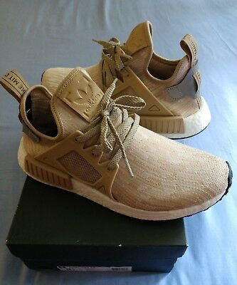 adidas nmd xr1 linen primeknit boost 8.5 supreme limited qs 350 air off white