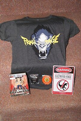 Loot Crate March 2017 'Primal' Complete New 2XL