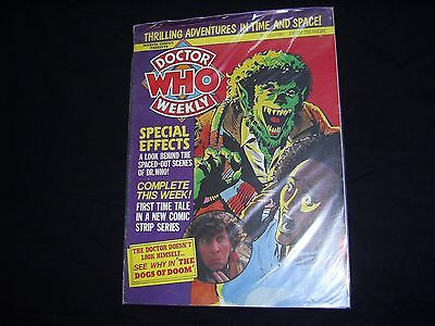 DOCTOR WHO WEEKLY Marvel Comics 7th May 1980 EXCELLENT