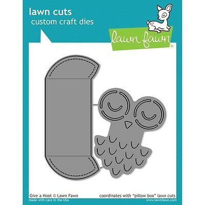Lawn Cuts Custom Craft Die - Give a Hoot