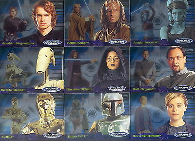 Star Wars Evolution Update - Complete Card Set (1-90) 2006 Topps @ Near Mint