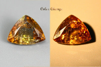 1.490 Ct  Earth Mined Unique Dazzling 100% Natural Dancing' Color Change Axinite