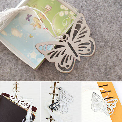 Butterfly Shape Bookmarks Hollow Labels Bookmark Birthday Party Student Gifts