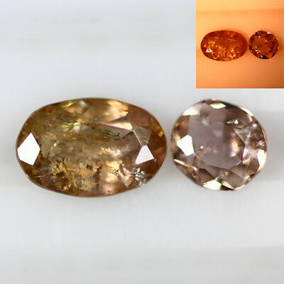 2.920 Ct  Earth Mined Unique Dazzling 100% Natural Dancing' Color Change Axinite