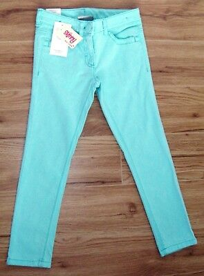 Bnwt Girls Next Mint Green Skinny Jeans 6 Yrs 5-6 New Holiday Party Denim Winter