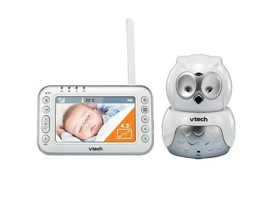 Vtech Monitor Video BM4500 - Owl - White/Silver