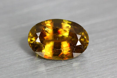 3.175 Ct Superb Luster Unbeliveable Excellent Luster Natural Rare Andalusite
