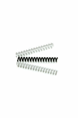 Spiral Plastic Binding Coils - various colours & quantities, A4, 6mm to 25mm