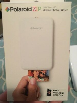 polaroid zip instant printer white