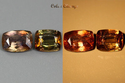 2.085 Ct  Earth Mined Unique Dazzling 100% Natural Dancing' Color Change Axinite