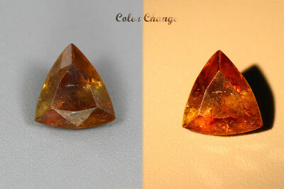 1.400 Ct  Earth Mined Unique Dazzling 100% Natural Dancing' Color Change Axinite