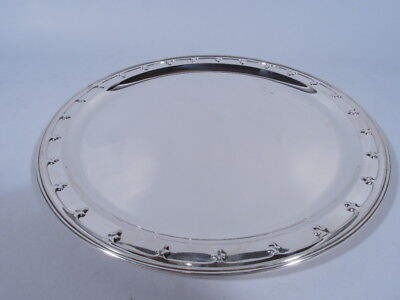Tiffany Saint St Dunstan Tray - 18127A - Antique   American Sterling Silver