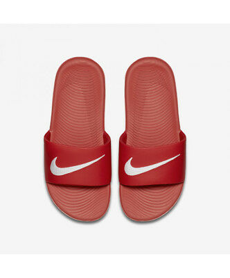 ffbcd6232e771b NIKE 819352-600   Boys  Kawa Slide Sandal GS PS University Red White ...