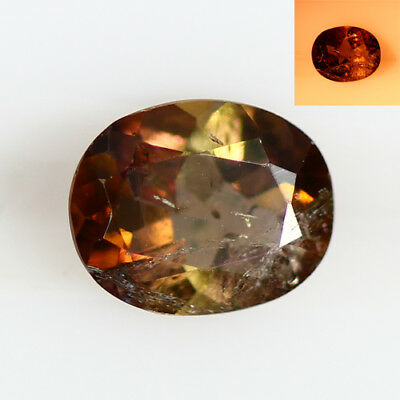 1.175 Ct  Earth Mined Unique Dazzling 100% Natural Dancing' Color Change Axinite