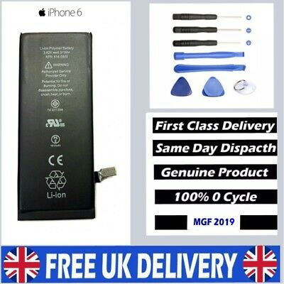 New Genuine Replacement Battery (1810mAh) For Apple iPhone 6 +Tools