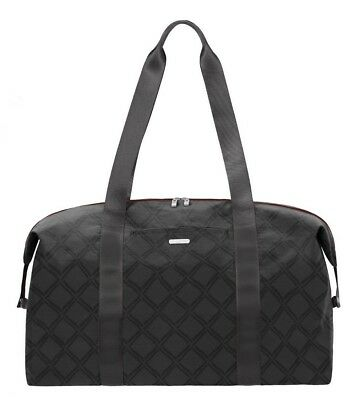 171697d43d5b Baggallini Large Travel Duffel Weekender Carry-On Bag in Charcoal Link Cloud