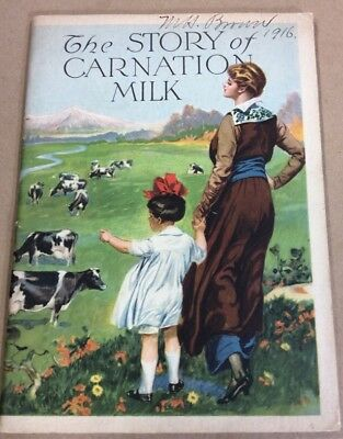 Vintage cookbook The Story Of Carnation Milk cookbook FREE SHIPPING INV-P1031