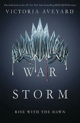 War Storm by Victoria Aveyard (English) Paperback Book Free Shipping!