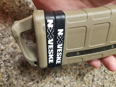Noveske wrist band pair. Can be used as a Mag bands. Plus free decal.