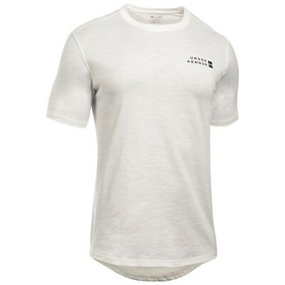 Under Armour Sportstyle Core T-Shirt Sport Freizeit Tee Shirt ivory 1303705-130