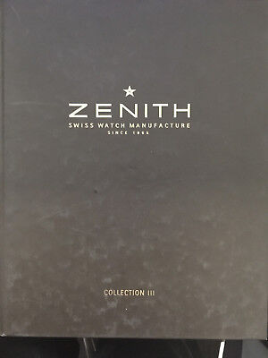 Zenith.swiss Watch Manufacture.collection Iii.2003.