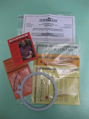 Craft 'Punch with Judy' Russian PunchNeedle Embroidery Kit NEW