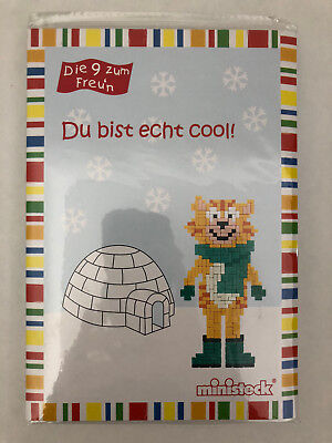 "Ministeck Set ""Du bist echt cool!"" Postkarte / Brief"