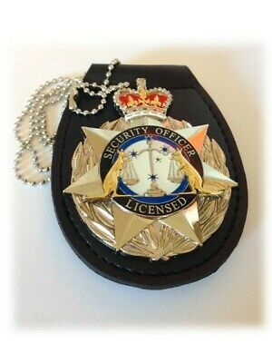 Security Badge with Belt Holder - Delivery Included