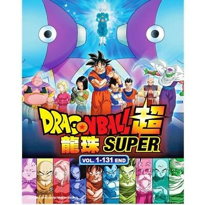 DVD Anime DRAGON BALL SUPER Complete Series (1-131 End) English Subtitle 11DVD