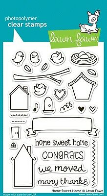 Lawn Fawn Die & Stamp Set - Home Sweet Home