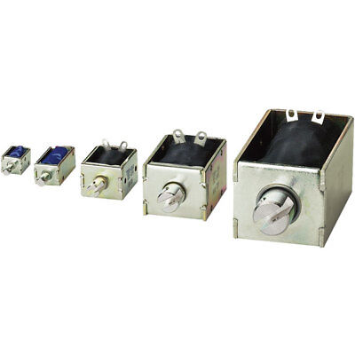 EBE Group 3100244 TDS-10A, 0.4/18 N Pull Type Solenoid 12VDC 4.2W M3