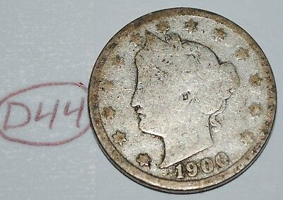 United States 1900 Liberty Head Nickel USA 5 Cents Coin Lot #D44