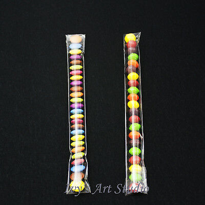 100 X Clear Cello 25X200mm Treats Long Bags Jelly Beans Tube Easter Skinny Party