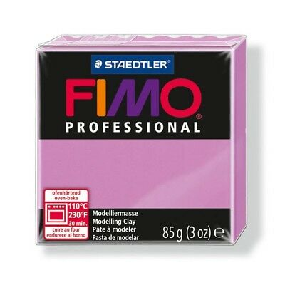 Fimo Professional 85g Lavender - Clay Polymer Modelling Oven Bake Moulding Block