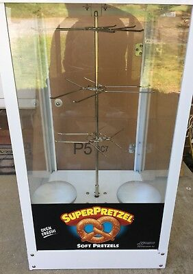 J&J Snack Foods Heated Revolving Pretzel Display Model 750 Local Pickup Only