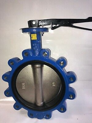 "10"" Butterfly Valve Lug Style Nickel Ductile Iron Disc"