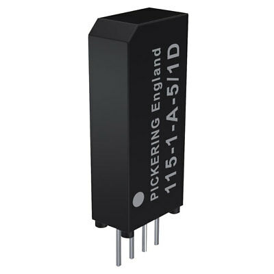 Pickering Very High Density 1 Form A SPST 5 Volt coil Reed Relay - 115-1-A-5/2D