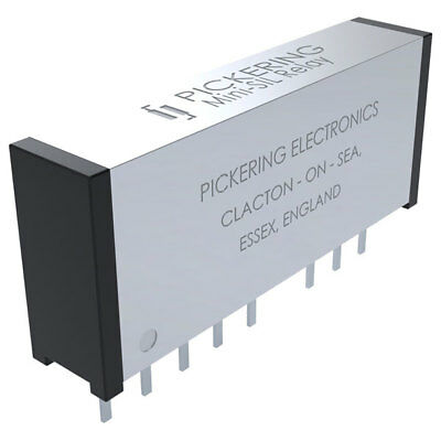 Pickering Double Change-Over 2 Form C (DPDT). 5 Volt coil Reed Relay
